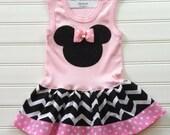 Custom Boutique Dress Chevron Dress Girls Dresses Baby Dresses Birthday Dress Girls clothing Available 6-9 months through 6-8