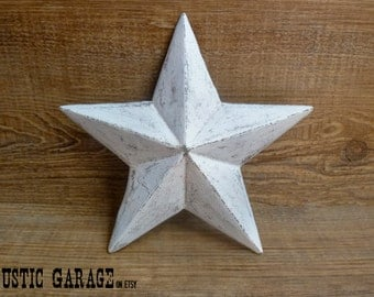 Texas Star Wall Art aqua handpainted cast iron texas star wall hanging