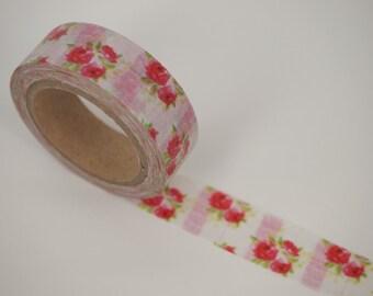 Rose Washi Tape (10M)