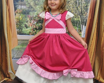 Cinderelly Dress - Sizes 2T, 3T, 4T, 5, 6, 7, 8 and 10