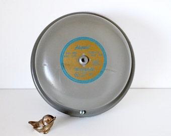 Vintage Industrial Alarm Bell in Original Box Edwards Apaptbel