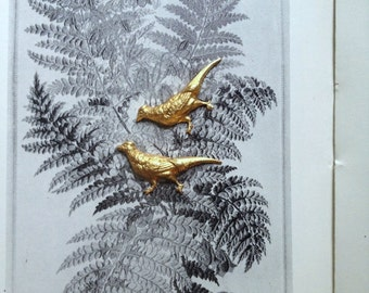 Tiny Pheasants (2 pc)