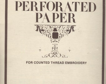 Perforated Paper for Counted Thread Embroidery