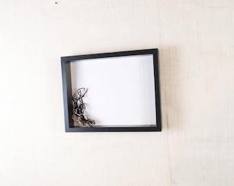 Modern Black Frame 11x14 - Black - Deep Frame, Open Box Frame