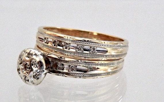 layaway mina vintage 14k engagement by eclairjewelry