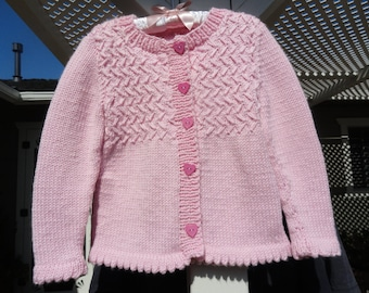 Bubble Gum Pink Sweater