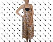 VINTAGE TRIBAL print dress romper