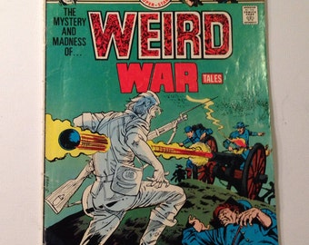 Weird War Tales DC Comic Vol 5 No 41 September 1975, DC Comics, Military Stories, Out of Print Comic Books, Vintage Comic Book