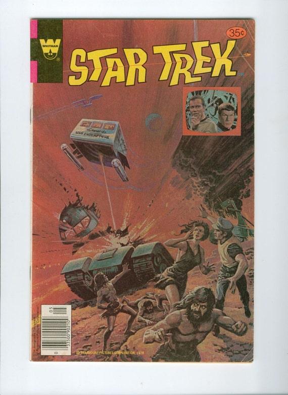 1978 Vintage Star Trek Comic Number 52 July Whitman
