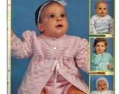 Baby Knits by C Strohmeyer Knit Pattern Book Leisure Arts Leaflet 2780