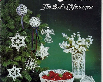 Crochet Cotton The Look Of Yesteryear / Crochet  Pattern Book GM-59