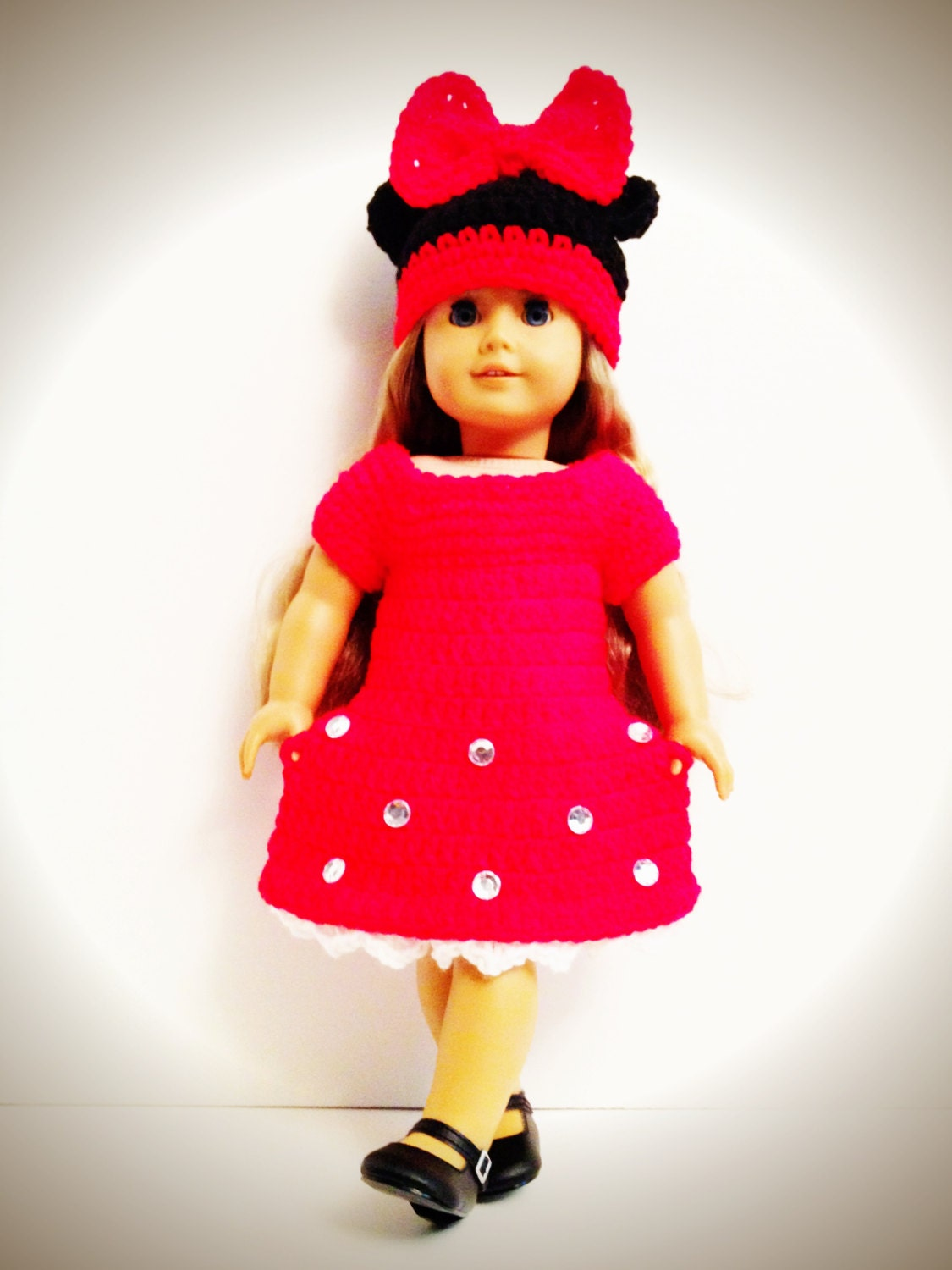 Crochet Minnie Mouse Doll : 301 Moved Permanently