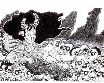Corpse Fairy 2 print 8.5 x 11