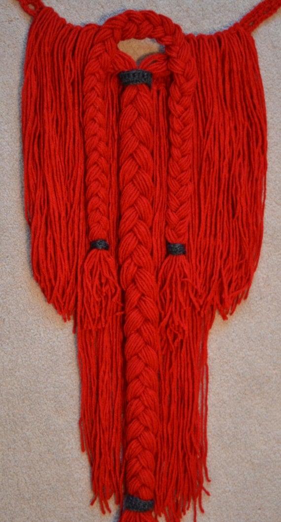 Crochet Viking Hat With Beard : Items similar to Crochet Detachable Viking Beard With Hat on Etsy