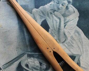 Glove Stretcher wooden Vintage French
