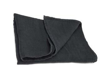 Bathroom sauna towel linen natural,linen bath sheet, eco friendly, black towel