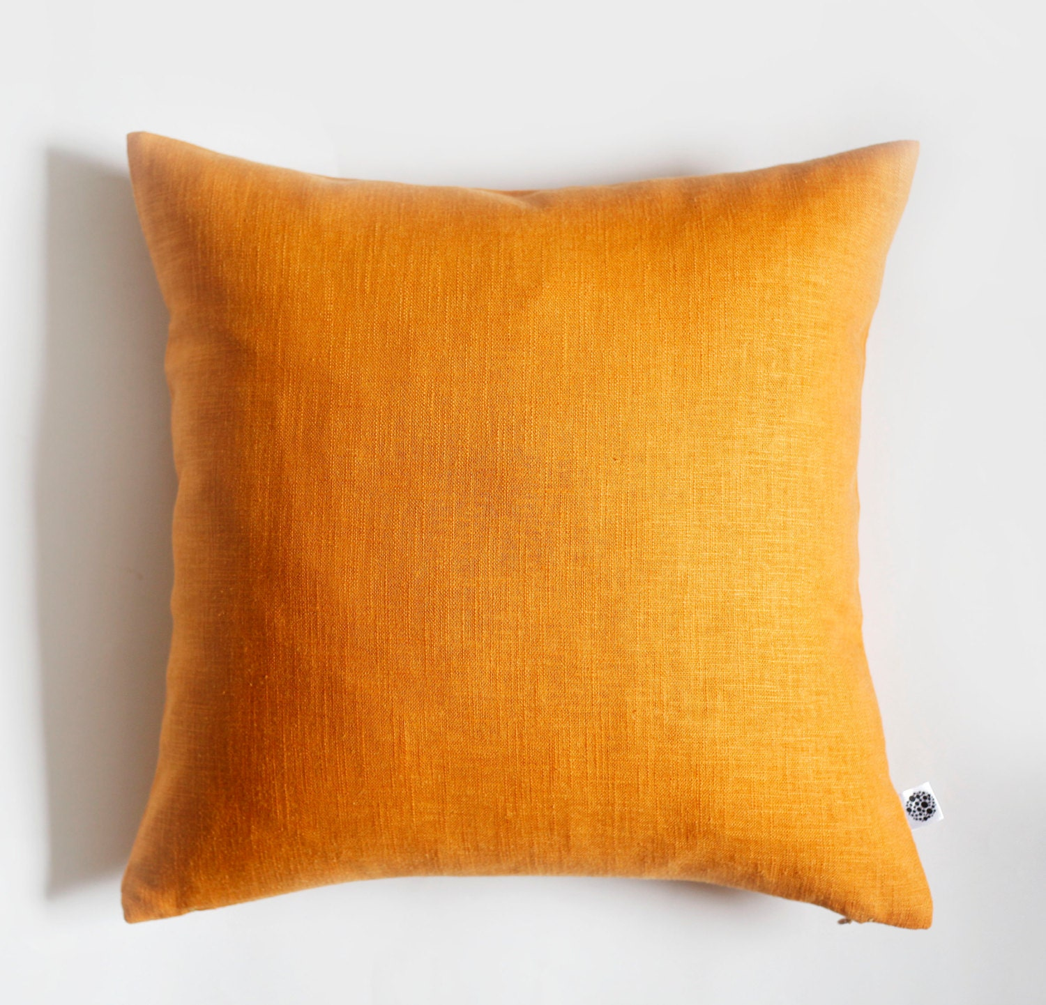 Yellow Linen Throw Pillow : 2 Yellow pillow covers throw pillows linen cushion case
