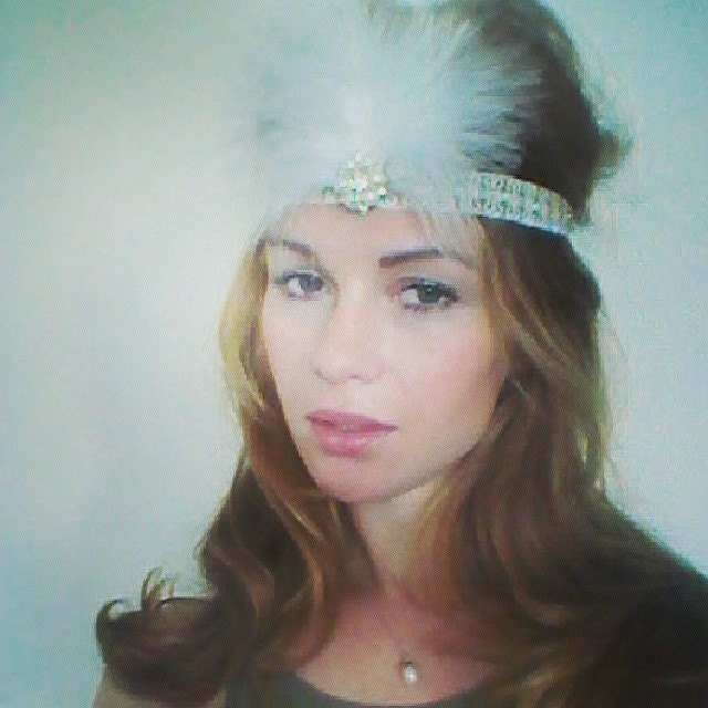 how to make a gatsby headband