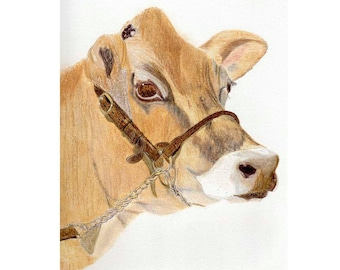 Cow Gift Cards - Jersey Cow
