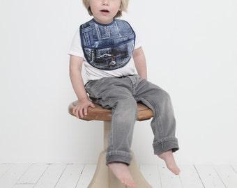 Slabber: jeans print