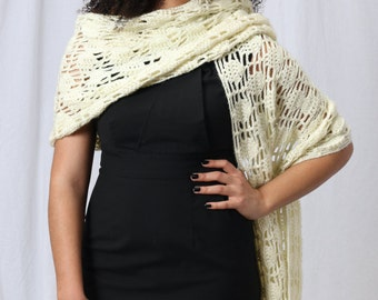 Crochet shawl, White crochet shawl, Bridal shawl, Crochet wedding shawl