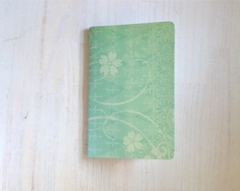 Large Notebook: Mint, Wedding, Favor, Notebook, Unlined, Journal, For Her, For Him, Gift, Unique, Blank Journal, Unlined Journal, L8-018