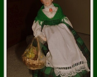 Vintage Porcelain Doll Avon Ireland