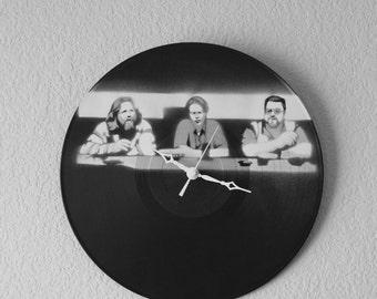 Customizable Vinyl Record Wall Clock Kit - Made to Order