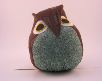 "9"" Baby-Safe Cuddle Owl Plush"