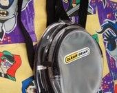 90s Clear Plastic Mini Backpack Club Kid Rave Clear Gear