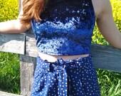 royal-blue-velvet-crop-top