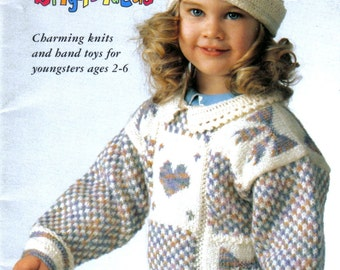 Paton's Astra Bright Ideas Knitting Booklet 734 Knitting Patterns for Boys and Girls