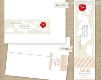 Wrap Around Address Labels | Printable