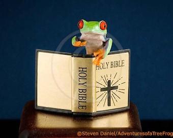 Bible Art - Preaching - Live Frog - Religious Art, Religion
