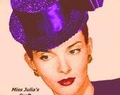 Vintage 1945 Stylish Stove-Pipe Hat 459 PDF Digital Crochet Pattern