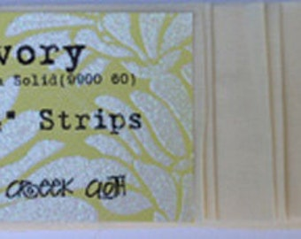 Ivory 10 strip Jelly Roll
