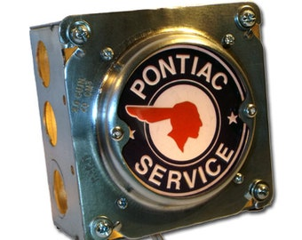 Retro Automobile Pontiac Night Light industrial chic