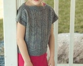 Portico Mini Sweater Kit - Contains: PDF Pattern and Aspen Sport Yarn in Colorway of Choice