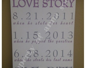 Love Story Save the Dates!