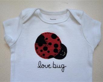 Lady bug/ Love bug one piece