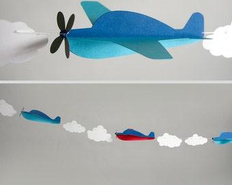 Airplane Garland Kit