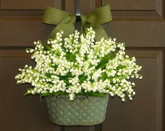 summer wreaths for door lily of the valley front door wreaths decorations