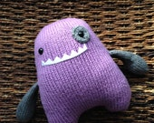 Handmade Knit Eyepatch Monster