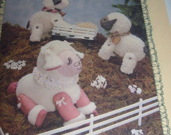 "Tomorrows treasure ""Lullabye"" Pattern Lambs"