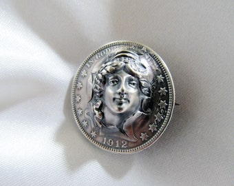 Popular Items For Lady Liberty Coin On Etsy