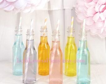SODA BOTTLE Plastic lil 5oz 10 Plastic BPA Free -Little ReTrO SoDA Bottles -Un-Breakable p.e.t. Plastic, SodA Shop 50's Sock Hops & Drive in