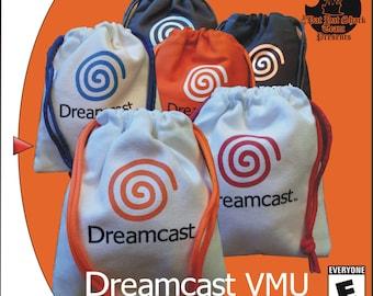Sega Dreamcast pull string VMU bags