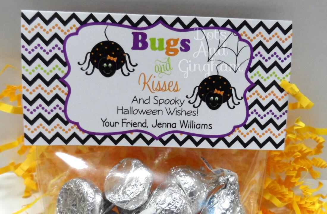 Halloween Treat Bag Topper-Printable Treat Bag by DotsAndGingham
