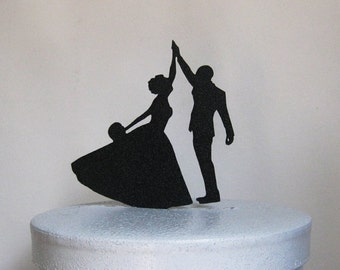 Wedding Cake Topper - High Five