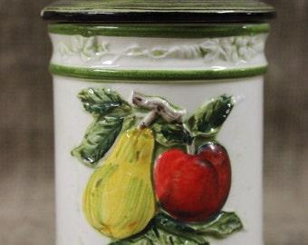 Vintage Ceramic Fruit Jar